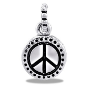 Peace Sign Charm - TRUNK SALE, NO FURTHER DISCOUNT