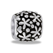 Silver Daisy Bead TRUNK SALE, NO FURTHER DISCOUNT