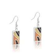 DaVinci Rectangular Earrings