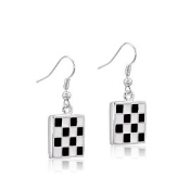 DaVinci Checkered Earrings