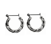 DaVinci Knotted Silver Earrings