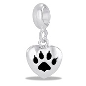 Cat Paw Dangle Bead TRUNK SALE, NO FURTHER DISCOUNT