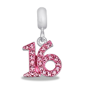 Sweet 16 Crystal Bead by DaVinci