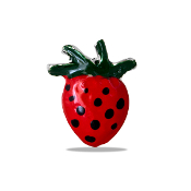Strawberry Charm For Lockets