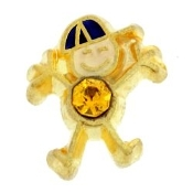 11- November Boy Birthstone Charm For Lockets