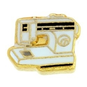Sewing Machine Charm For Lockets - TRUNK SALE NO OTHER DISCOUNT