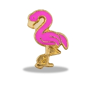 Pink Flamingo Charm For Locket
