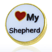 LOVE MY SHEPHERD Charm TRUNK SALE, NO FURTHER DISCOUNT