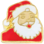 Santa Charm For Lockets - TRUNK SALE NO OTHER DISCOUNT