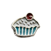 Frosted Cupcake Charm For Lockets
