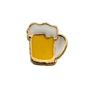 Frosty Mug of Beer Charm for Lockets