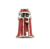 Red Lighthouse Charm for Lockets
