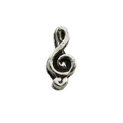 Treble Clef Charm for Lockets