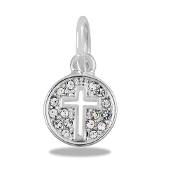 Cross Cut-Out Bead for DaVinci Inspirations® Jewelry