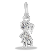 Girl Crystal Bead for DaVinci Inspirations® Jewelry