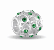 MAY Crystal Orb Decorative Birthstone Bead by DaVinci®