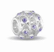 JUNE Crystal Orb Decorative Birthstone Bead by DaVinci®