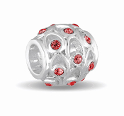 JULY Crystal Orb Decorative Birthstone Bead by DaVinci®