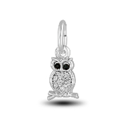 Crystal Owl Charm Bead for DaVinci Inspirations® Jewelry