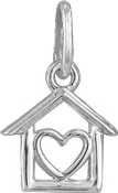 House with Heart Bead for DaVinci Inspirations® Jewelry