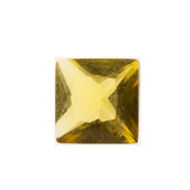 11- November Square Crystal Birthstone Charm