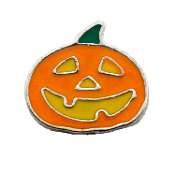 Jack-O-Lantern Charm for Floating Oragami Owl Type Lockets