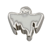 Ghost Charm for Floating Oragami Owl Type Lockets