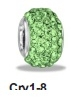 August Swavorski Crystal Pave Bead - TRUNK SALE - No Further Dis