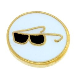 Sunglasses Oval Charm TRUNK SALE, NO FURTHER DISCOUNT