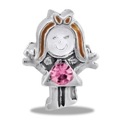 October Girl CZ Bead