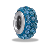 March Slim Pave Bead by DaVinci