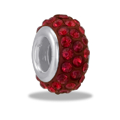 July Slim Crystal DaVinci® Pave Bead