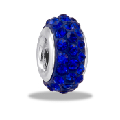 September Slim Pave Bead by DaVinci