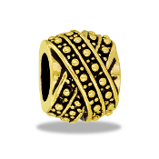 TRUNK SALE *No Further Discount -Gold Twist Decorative Bead