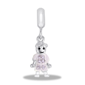 April Boy Pave Bead by DaVinci
