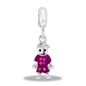 October Boy Pave Bead by DaVinci