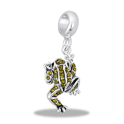 Frog Crystal Bead by DaVinci