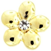 Gold Flower Charm TRUNK SALE, NO FURTHER DISCOUNT