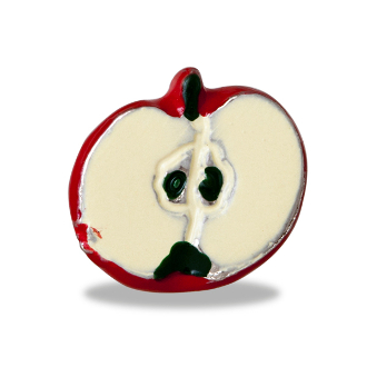 Apple Charm For Lockets