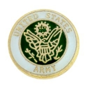Army Seal Charm For Lockets