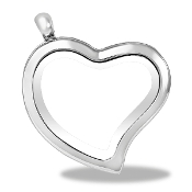 Heart Shaped Silver Locket