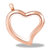 Heart Shaped Rose Gold Locket