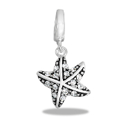 Starfish Drop Dangle For Lockets