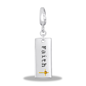 FAITH Drop Dangle For Lockets