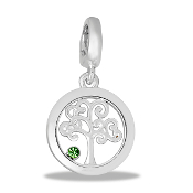 Family Tree Drop Dangle For Lockets