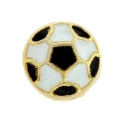 Soccer Ball Charm For Lockets