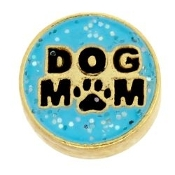 DOG MOM Charm For Locket
