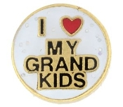 I Love My Grandkids Charm For Lockets