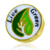 Live Green Charm TRUNK SALE, NO FURTHER DISCOUNT