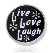 Live, Laugh, Love Charm For Lockets